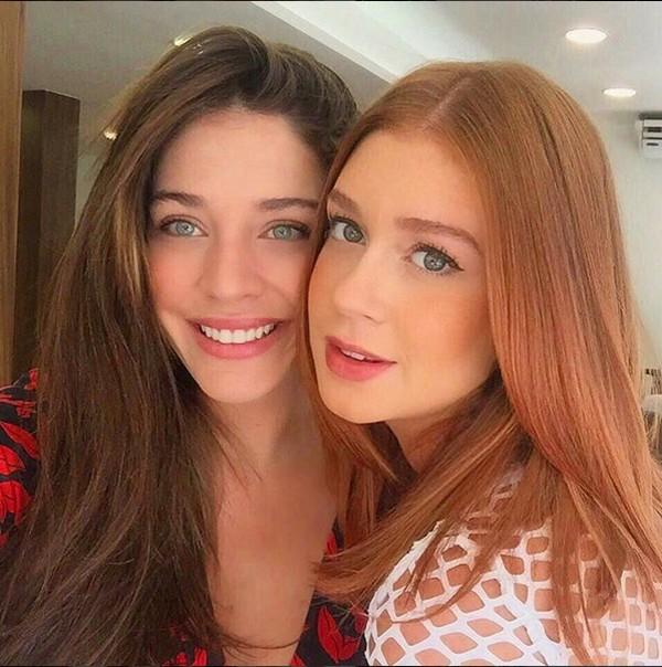 Luma Costa e Marina Ruy Barbosa (Foto: Reprodução / Instagram)