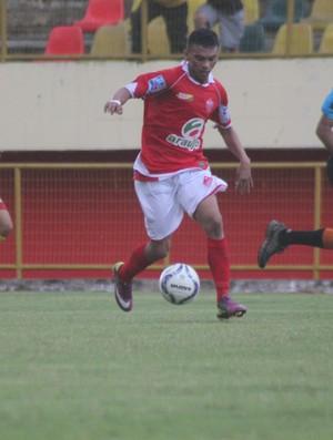 Araújo Jordão, atacante do Rio Branco (Foto: João Paulo Maia)