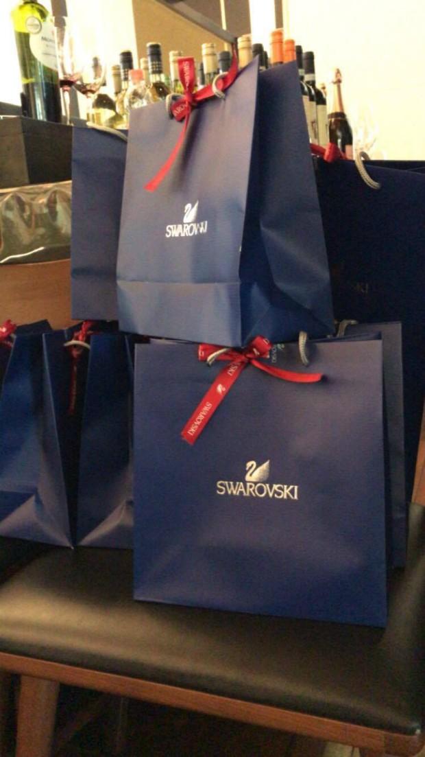 Almoço entre Swarovski e Marie Claire foi realizado no Shopping Iguatemi, em São Paulo (Foto: Reprodução / Instagram)