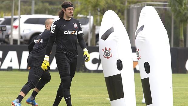 Treino Corinthians (Foto: Daniel Augusto Jr / Corinthians)