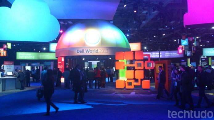 Dell World 2013 apresenta novidades da companhia para 2014 (Foto: Fabrício Vitorino/TechTudo)