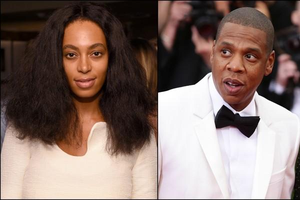 Nunca mais deixem Solange Knowles e Jay-Z no mesmo elevador! (Foto: Getty Images)