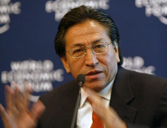 Ex-presidente do Peru, Alejandro Toledo (Foto: WEF/CC)