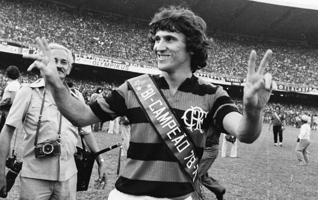 Especial Zico 60 anos - Bi-Campeão (1979) (Foto: Agência O Globo)