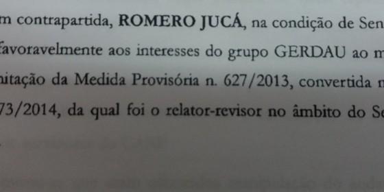 Rasgadinho Romero Jucá (Foto: Época)