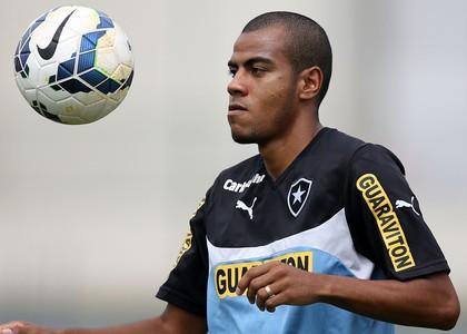 Regis Botafogo treino (Foto: Satiro Sodré/SSPress)