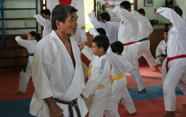 Yoshizo Machida em Manaus (Foto: Alírio Lucas)