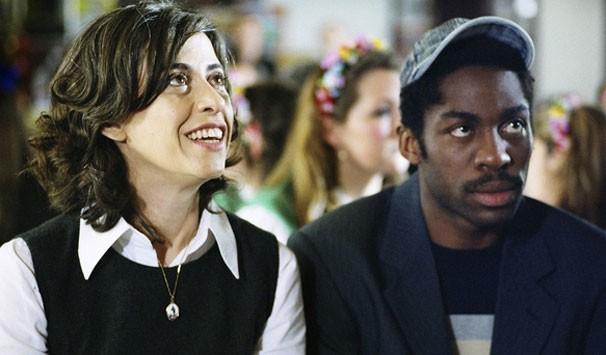 Fernanda Torres e Lázaro Ramos: ator afirma que um dos pontos altos do trabalho é a reunião dos atores  (Foto: Divulgação/ Globo)
