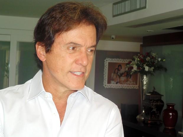 Robinson Faria foi eleito governador do Rio Grande do Norte neste domingo (Foto: Fred Carvalho/G1)