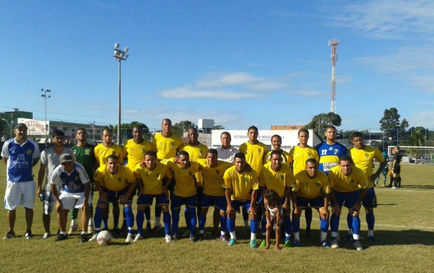 Parma venceu o Guarany de Caçaroca, jogando em Novo Horizonte, na Serra (Foto: Gilmar Dinei/Parma)