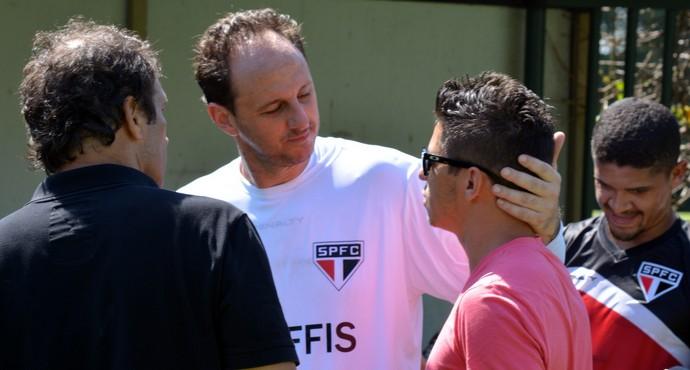 Osvaldo Rogério São Paulo (Foto: Site oficial do SPFC)