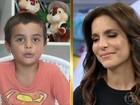Ivete Sangalo faz vídeo ao lado do filhinho Marcelo: 'Ele é uma figura'