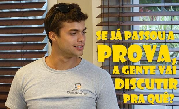 Discutir pra quê? (Foto: Malhação / TV Globo)