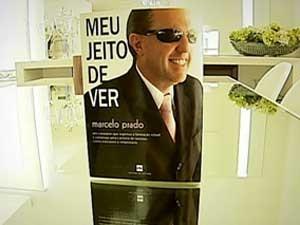 Livro que Marcelo Prado escreveu (Foto: Reprodução / TV Integração)