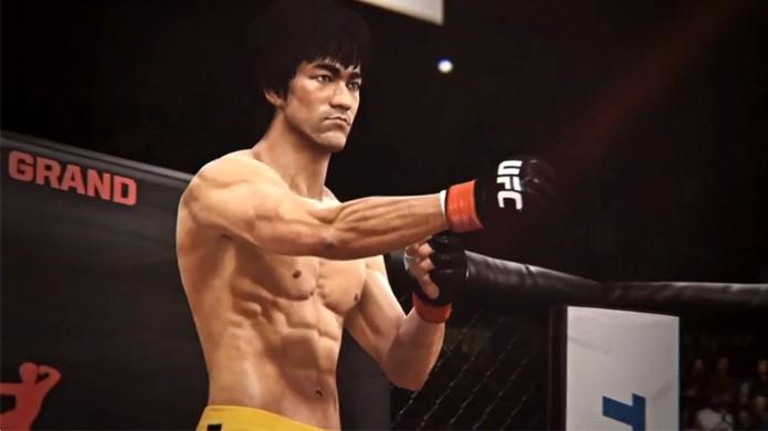 Bruce Lee é lutador especial em EA Sports UFC (Foto: Reprodução: gameinformer.com)