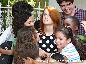 A 'felicidade' de Giovana  (Foto: Malhação / TV Globo)