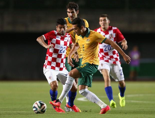 Jason Davidson Austrália x Croácia (Foto: Getty Images)