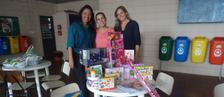 Divisão de RH e Instituto EPTV doam brinquedos (Divulgação/ EPTV)