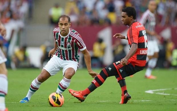 Felipe e Luiz Antonio, Fluminense x Flamengo (Foto: Fernando Cazaes/Photocamera)