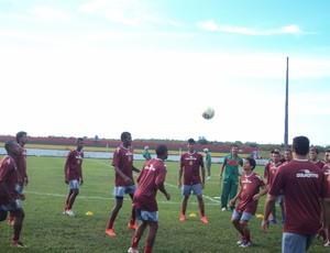 Grupo do Sampaio terá cortes para o restante da temporada (Foto: Afonso Diniz/Globoesporte.com)