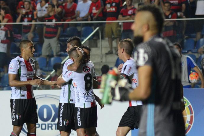 Flamengo x Palestino  (Foto: EFE)
