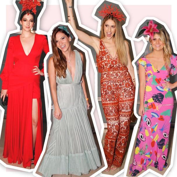 O time Glamour na festa: Isabela Serafim, Nathalia Fuzaro, Paula Merlo e Giovana Romani (Foto: Rafa Borges)