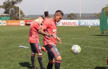 Zé Ricardo testa Guerrero e Damião  no time titular, e Fla pode ter novidade