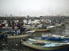 Pescadores palestinos são feridos por disparos da Marinha israelense