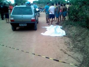 Tenente suspeito de matar lutador de MMA estava em Fiat Uno cinza com ex-mulher no momento do atentado em Macaíba, RN (Foto: Divulgação/Polícia Militar do RN)