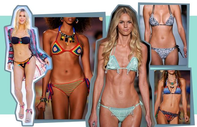 Biquíni: descubra o modelo ideal para o seu tipo de corpo (Foto: Reprodução )