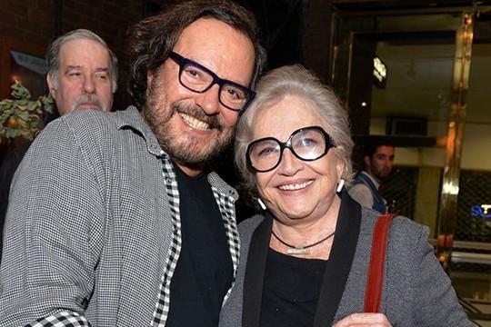 """Wolf Maya e Nathalia Timberg são amigos há mais de 30 anos. """"A arte nos uniu"""", diz a veterana atriz (Foto: Divulgação)"""