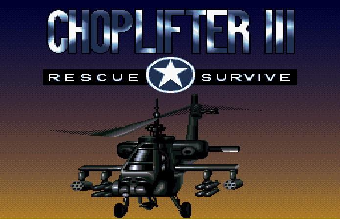 Resgatar reféns usando uma cordinha era a principal missão em Choplifter 3 (Foto: Reprodução)