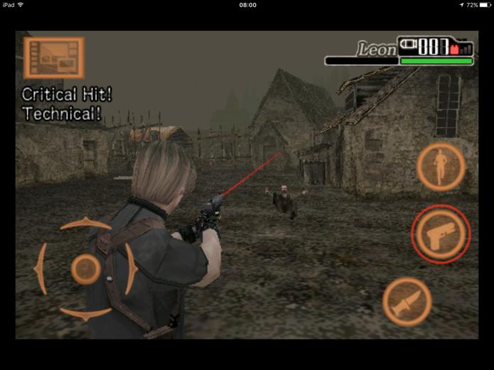 Mirar e atirar bem em Resident Evil 4 são requisitos para se dar bem (Foto: Reprodução/Felipe Vinha)