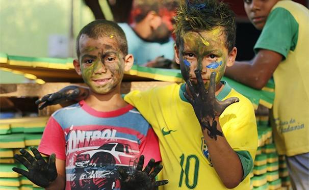 Crianças se divertem (Foto: Divulgação)