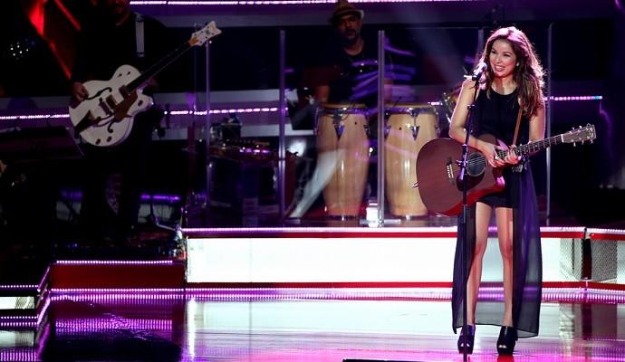 Liah Soares participou da primeira temporada do 'The Voice Brasil' (Foto: Reprodução / Globo )