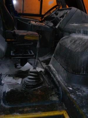 Tijucas foi uma das cidades que registraram ataques a ônibus (Foto: Reprodução RBS TV)