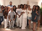 Ivete Sangalo canta em festa na casa de Gilberto Gil na Bahia; veja vídeo