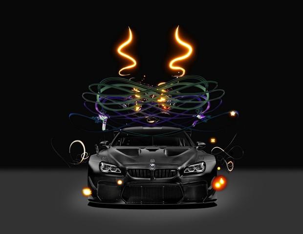BMW Art Car 2017  (Foto: reprodução )