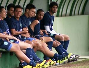 Guarani treina antes de enfrentar o Atlético-PR, em Campinas (Foto: Reprodução / EPTV)