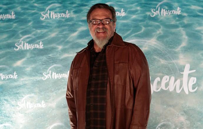 Luis Mello é Kazuo Tanaka em 'Sol Nascente' (Foto: Gshow/Felipe Monteiro)