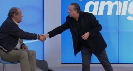 ídolo e amigo (Reprodução / SporTV)