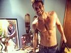 Daniel Manzieri, eliminado do 'BBB 16', posa sem camisa após deixar casa