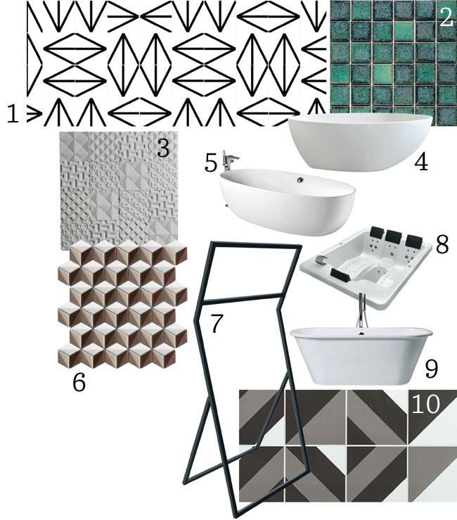 Banheiros contempor (Foto: Divulga)