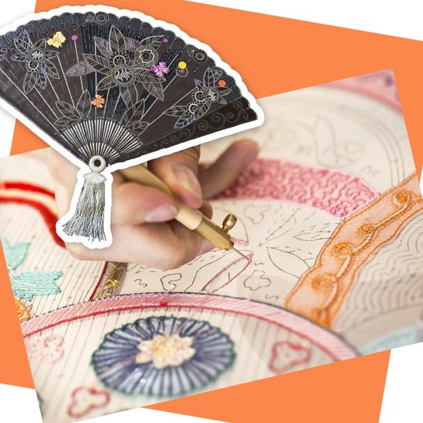 Leque-assinatura do grupo Mandarin Oriental (Foto: Divulgação)