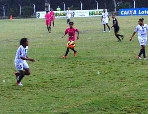 São José x Ascoop-DF duelam no Brasileiro de Futebol Feminino (Foto: Danilo Sardinha/ Globoesporte.com)