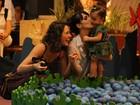 Fernanda Pontes e a filha Malu têm tarde divertida com Amanda Ritcher