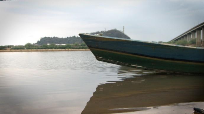O 'Pé na Pista' fala do Rio São Francisco (Foto: TV Bahia)