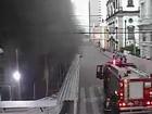 Incêndio atinge prédio do CESAR em reforma no Bairro do Recife