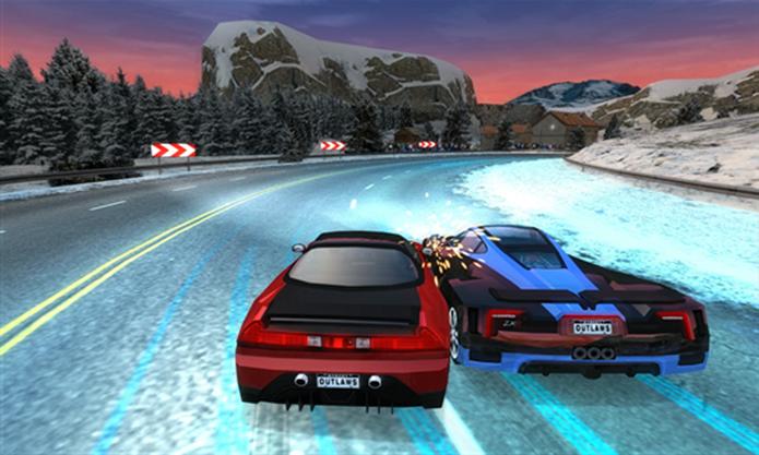 Street Outlaws é um game de corrida que põe usuário em alta velocidade nas ruas de diversas cidades (Foto: Divulgação/Windows Phone Store)