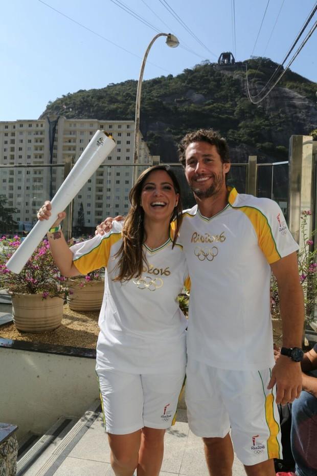 Carol Sampaio e Flávio Canto (Foto:  Reginaldo Teixeira/CS Eventos Divulgação)